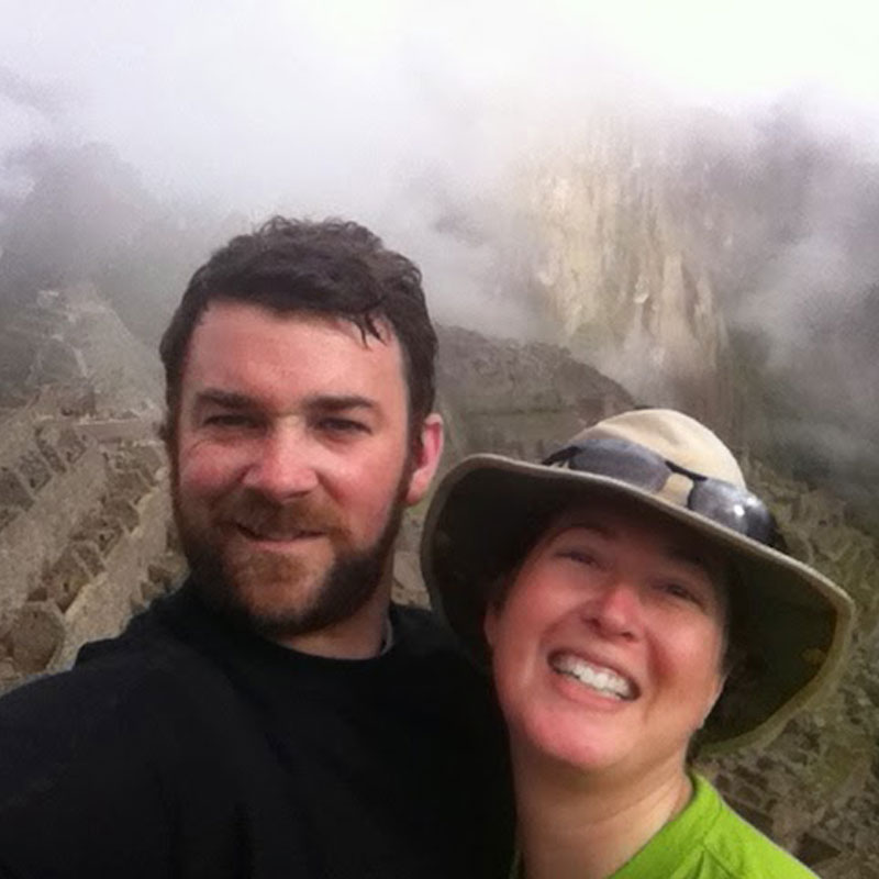 Another awesome adventure - reaching Machu Picchu after four days of hiking, including a 14000' pass, on the Inca Trail!