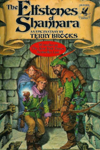 The original cover - traditional 1980s fantasy and not the current fantasy trends