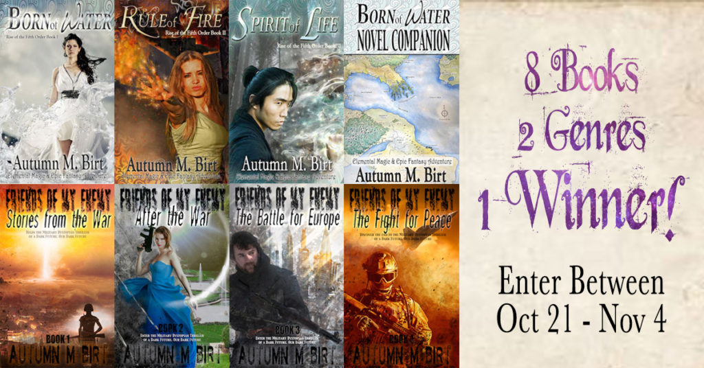 my 8 book giveaway