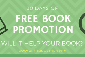 Results from 30 Days of FREE Book Promotion