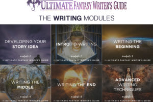 The Writing Modules of the Ultimate Fantasy Writer's Guide