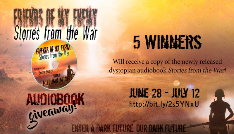 Dystopian Audiobook Giveaway for Stories from the War!