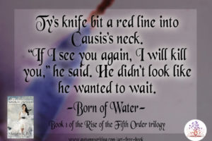 Audiobook Epic Fantasy Born of Water Clip from Chapter 7
