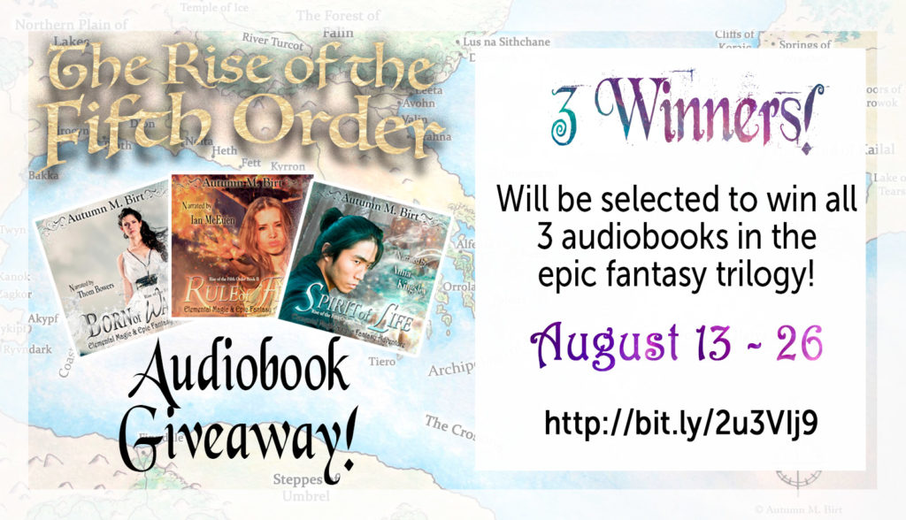 epic fantasy audiobook giveaway