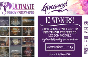 Enter the Ultimate Fantasy Writer's Guide Mega Giveaway!
