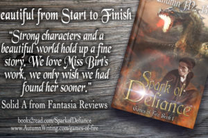 What Fantasia Reviews said about Spark of Defiance