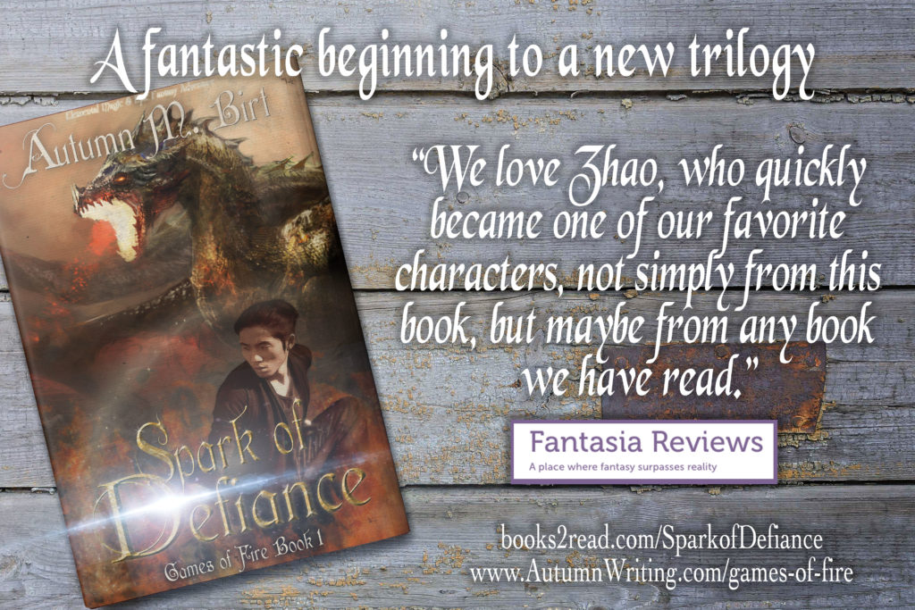 Fantasia Reviews Spark of Defiance