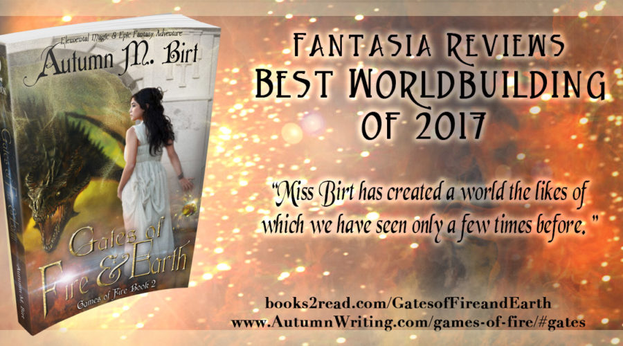 Gates of Fire & Earth takes Best Worldbuilding of 2017!