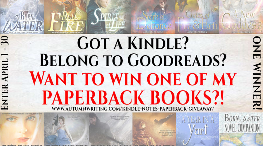Join The Kindle Notes U0026 Highlights Paperback Giveaway!